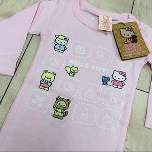 NWT Hello Kitty Baby Onsie in Pink